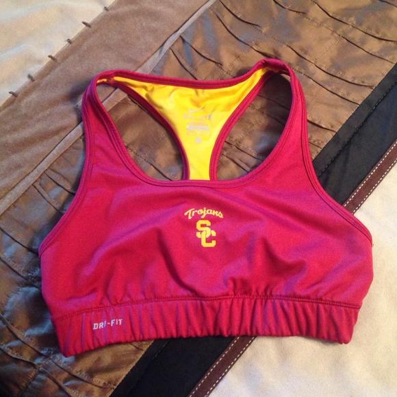 0734ebed7d ... Nike Dri Fit USC Trojans Sports Bra. M 55256e28c6c7950c4e002ffa