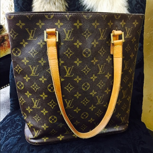 louis vuitton vintage tote. vintage louis vuitton bucket bag tote a
