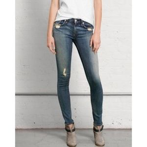 Rag and bone jeans destroyed size 27 rag & bone