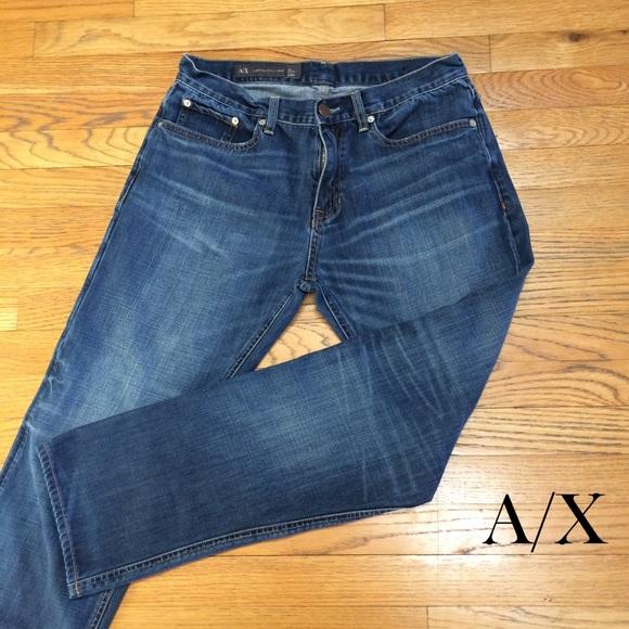 a3afd087 Armani Exchange Mens Blue Jeans