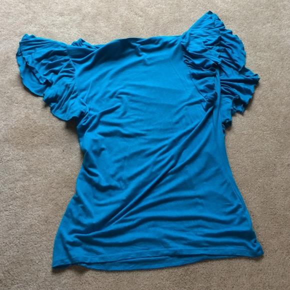 47 Off Tops Aqua Blue Dress Shirt From Kelly 39 S Closet