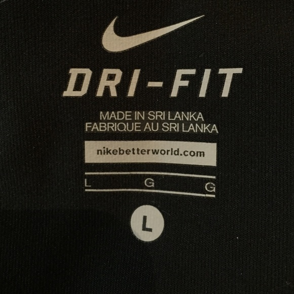 77% off Nike Pants - NIKE DRI-FIT loose fit Capri workout pants ...