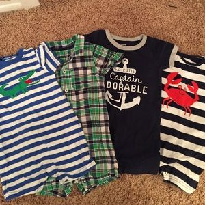 Carters Other - 12 month boy summer bundle