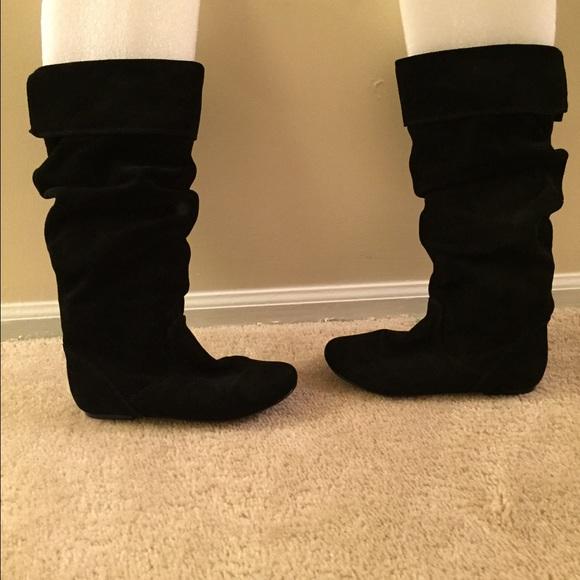 50 steve madden boots steve madden flat black suede