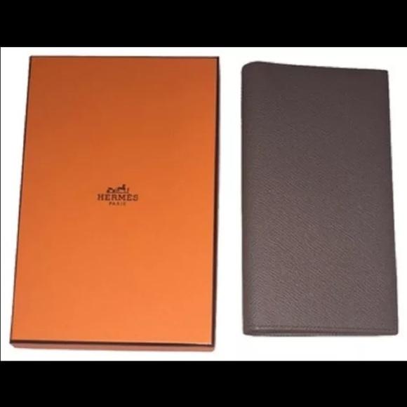 bag knockoffs - Hermes leather wallet on Poshmark