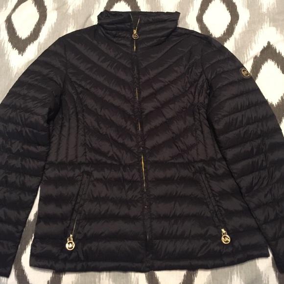 Packable down fill jacket michael kors