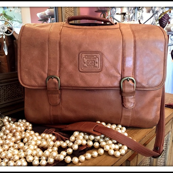ee04502bea39 Geoffrey Beene Handbags - GORGEOUS LEATHER TRAVEL Computer Bag!