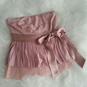 Victoria's Secret Pink Lace Top