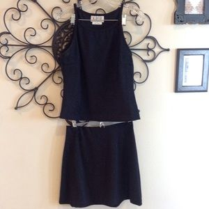 A. Byer Dresses & Skirts - Sparkly 2 piece black professional set