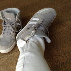 adidas neo raleigh high top sneaker