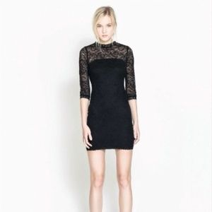 Zara Dresses & Skirts - 💞PM EDITOR SHARE & HPx4💞 ZARA lace tube dress