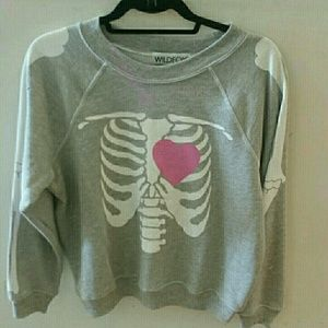 Wildfox my beating heart sweatshirt