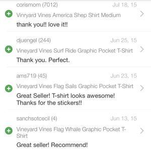 Vineyard Vines Accessories - Buyer Feedback: Thank You! :')