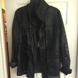 BCBG Perforated jacket