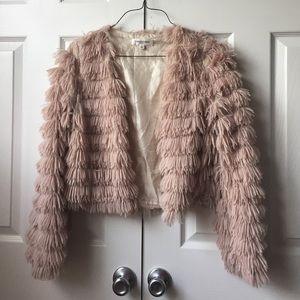 Soft pink cardigan
