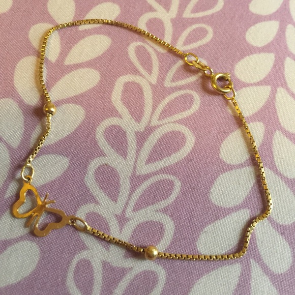 18k Japan Gold Jewelry on Poshmark