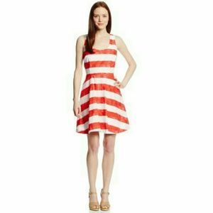 BB DAKOTA FIT AND FLARE DRESS- NEW