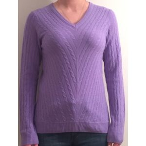 Lilly Pulitzer Katherine Cabled Cashmere Sweater