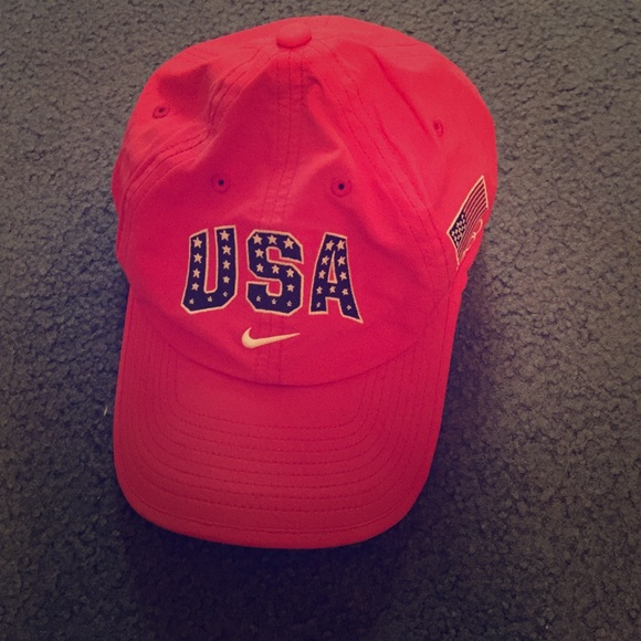 Nike USA Dri-Fit running hat. M 55270e9f56b2d65d22000566 63f43db5100