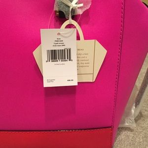 kate spade Bags - Kate Spade Pink Orange Beau Bag