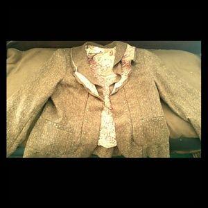 Coldwater Creek Jackets & Blazers - ** Coldwater Creek Tweed Size 16 Jacket