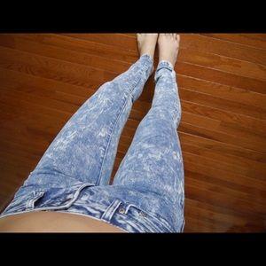 New Acid wash jeans
