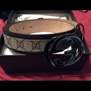 Gucci Brown Ladies Belt