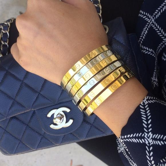 Jewelry , Screw Bracelet Bangle like Kylie Jenner