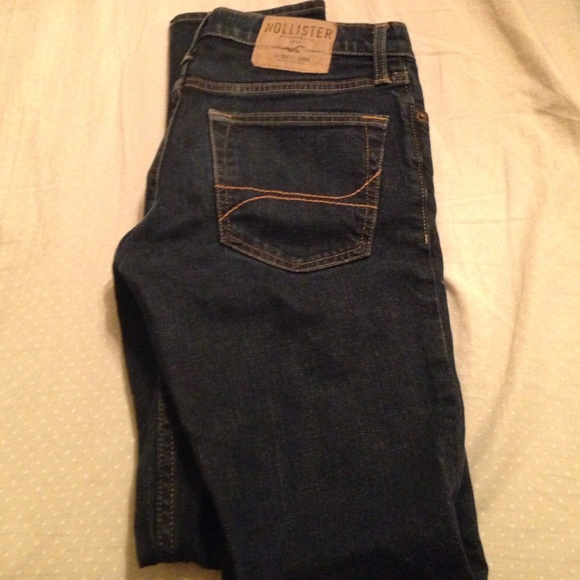 hollister dark jeans for men - photo #13