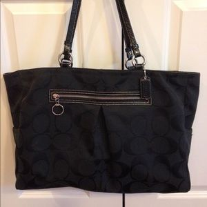 "Coach Signature ""C"" Large Tote"