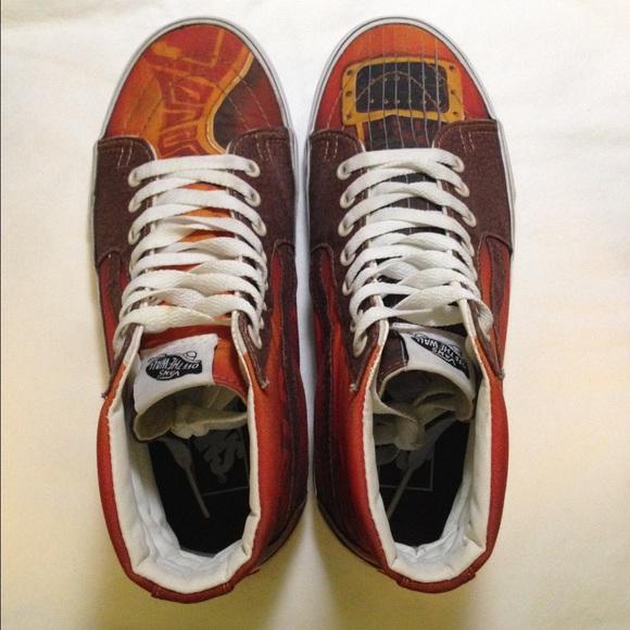 fd6674ec24 Vans Shoes - Vans Custom Culture Sk8-Hi Guitar Shoes