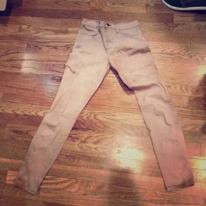 Jbrand  size 26 fit bleached skinny jean
