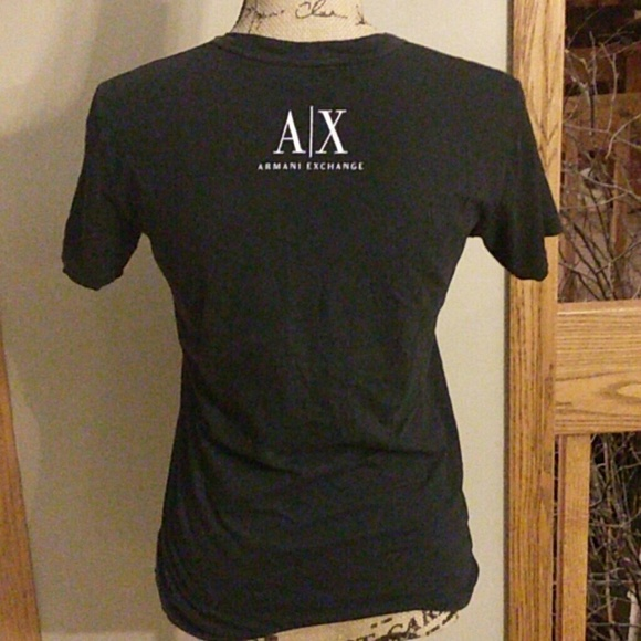 Armani exchange a x armani exchange black t shirt xs for Armani exchange t shirts wholesale