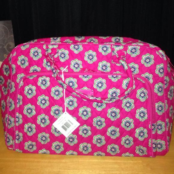 Vera bradley bags pink swirls flower weekender poshmark vera bradley pink swirls flower weekender mightylinksfo