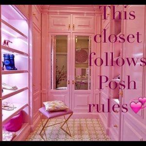 CLOSET RULES I FOLLOW ALL POSHMARK RULES