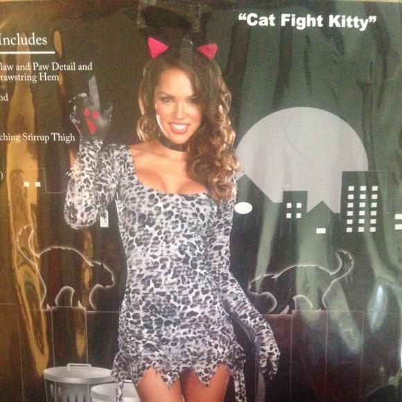 Cat fight Kitty costume  sc 1 st  Poshmark & Dreamgirl Accessories   Cat Fight Kitty Costume   Poshmark