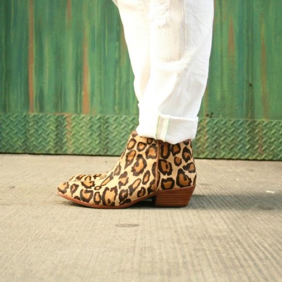 0d5e1419a Sam Edelman leopard calf hair