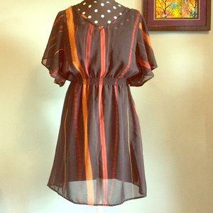 Mimi Chica Dresses & Skirts - Sheer Black Dress