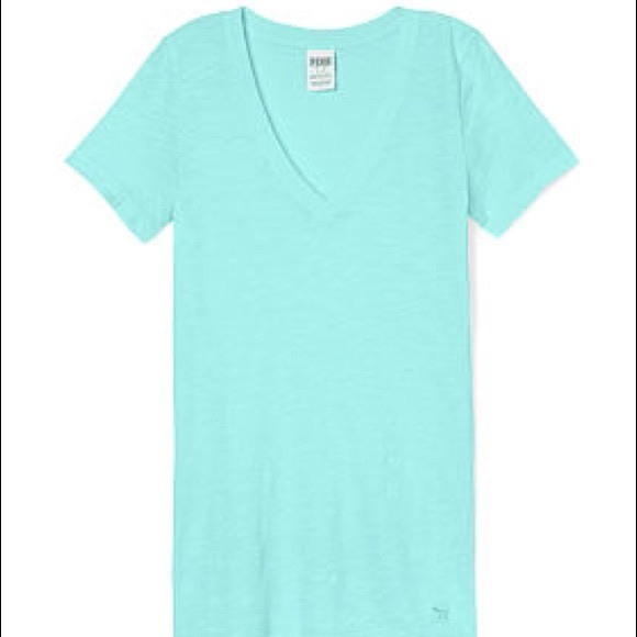 PINK Victoria's Secret - Victoria's Secret PINK V-Neck Tee from ...