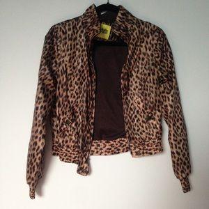 Charlotte Russe Jackets & Blazers - Leopard jacket