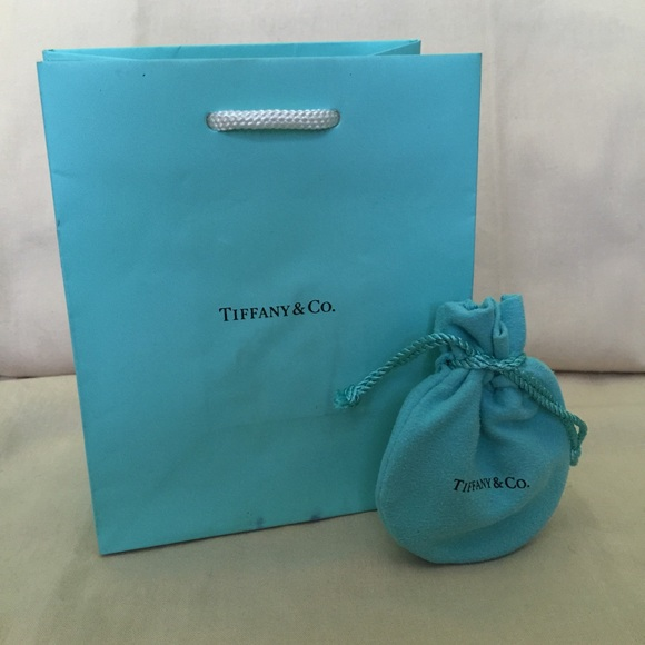 c2d4f6731e8 Authentic Tiffany & Co. Gift Bag and Jewelry Bag. M_552805bf99086a6ebe003965