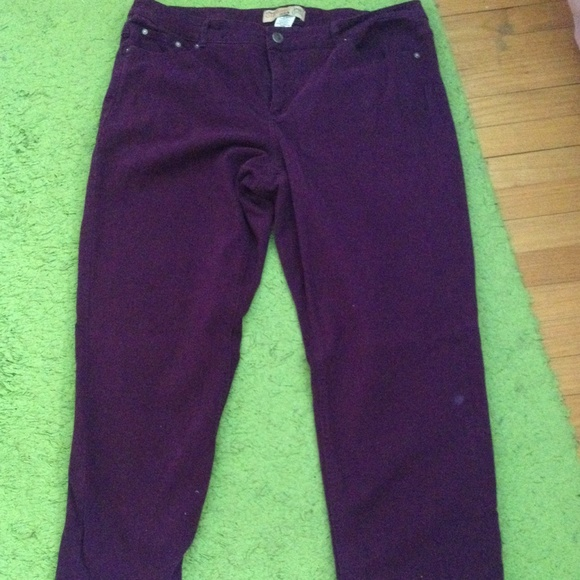 Just My Size - Just My Size Purple Jeans (Plus Size) from Molly's ...