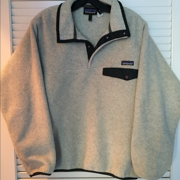 68% off Patagonia Outerwear - Patagonia Size Small Pullover Fleece ...