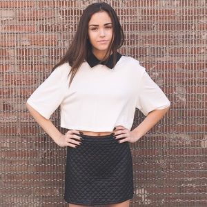 Collared top