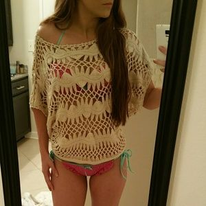 Knit Crochet Cover-Up