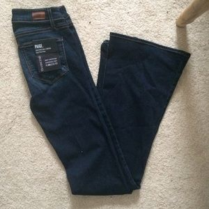 Paige canyon high waisted flares new 24
