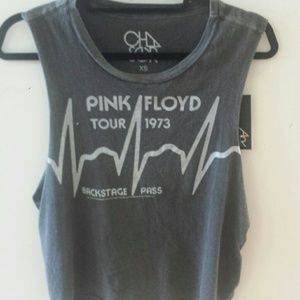 Chaser pink floyd muscle crop
