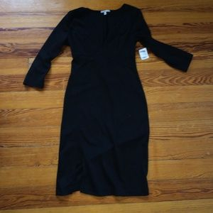 Black Long Sleeve Dress from Charlotte Russe