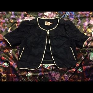 Juicy Couture Cropped Short Sleeve Jacket