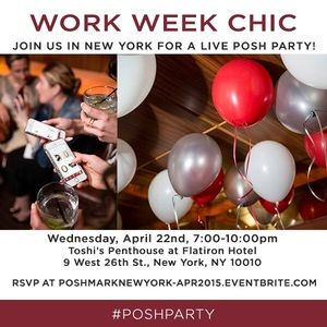 New York, you're invited to a LIVE Posh Party!